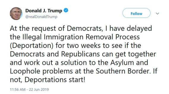trump ice deportation delayed tweet.JPG