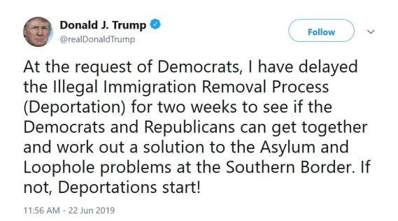 trump ice deportation delayed tweet.JPG