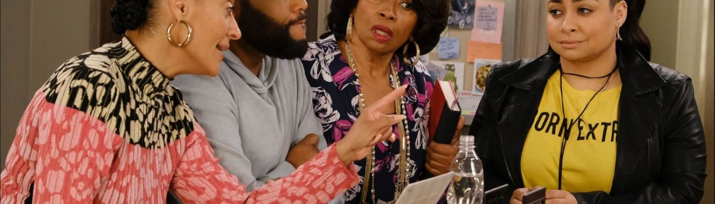 still image of Bow, Dre, Ruby, and Rhonda talking