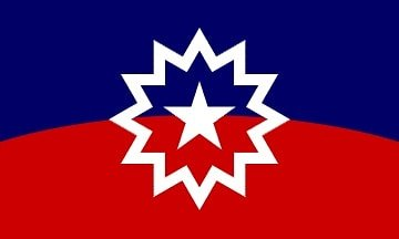 flag of juneteenth holiday