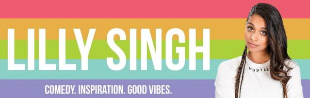 image of Lilly Singh's YouTube banner