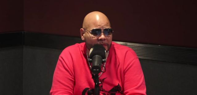 image of Fat Joe during Hot97 interview