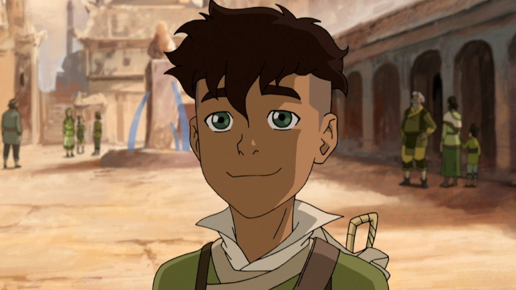 image of Kai, a character on Legend of Korra